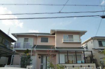生駒市 I様邸 外壁塗装リフォーム 施工事例