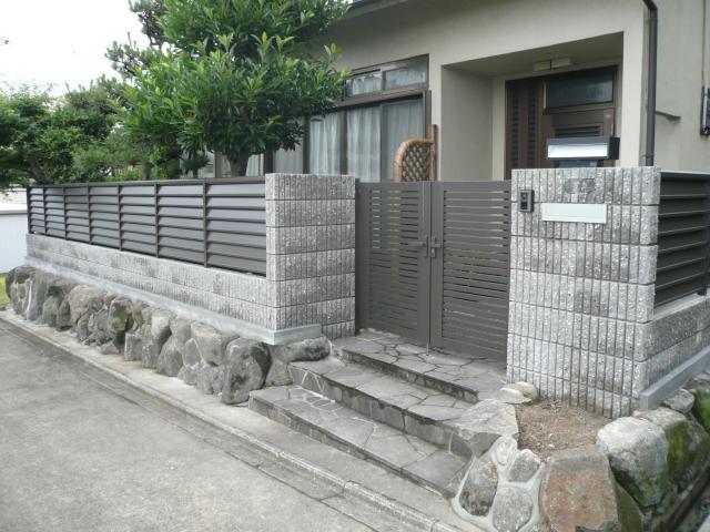 生駒郡 H様邸 外構・洗面・浴室リフォーム 施工事例