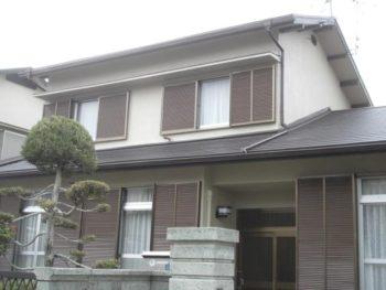 生駒市 U様邸 屋根・外壁リフォーム 施工事例